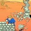 این هم کلنگبازی آقای ترامپ!