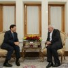 عکس | ملاقات ظریف با فرستاده ویژه رئیس جمهور اندونزی