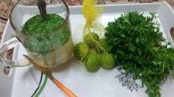 آب کردن سریع چربی پهلو با این سبزی خوش عطر!