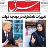 ۱۸ فروردين ۱۳۹۸ – عناوین روزنامههای امروز